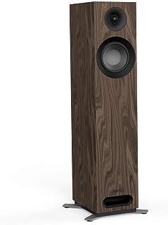 Jamo S 805 160 瓦 黑色, 胡桃色 扬声器 - 扬声器 (2.0 通道,线,160 瓦,49-26000 Hz,8 欧姆,黑色,胡桃色)