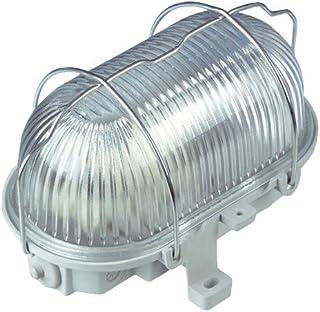 REV Ritter Light Oval 塑料 100 W 灰色 0590130555 灰色 1 - Pack 0590130555