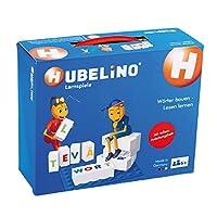 Hubelino 410085 - 教育游戏 - 建立词汇 - 学习阅读 - 从4岁起(与Duplo 100%兼容) - 120块