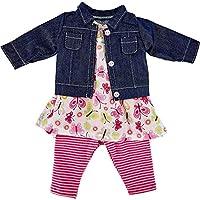 Käthe Kruse 0142808 幼儿园夏季服装39-41厘米,粉红色