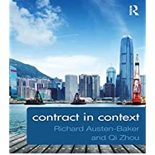 Contract in Context (English Edition)