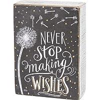 Primitives by Kathy Chalk Box 标志,Never Stop