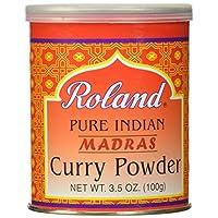 Roland Curry Powder, Madras, 3.5 Ounce (Pack of 12)