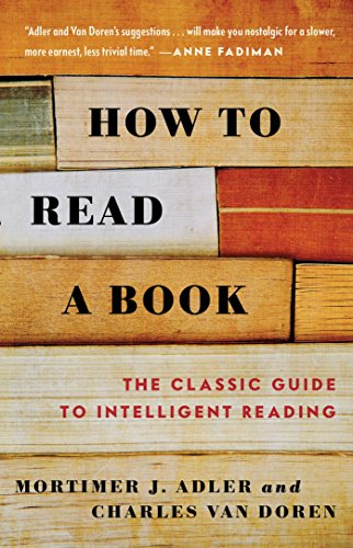 Kindle 电子书 How to Read a Book (English Edition) 如何阅读一本书英文版