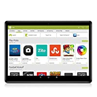 Android 安卓 8.1 平板电脑 10 英寸(10.1 英寸),Octa Core,3G 4G 双卡平板电脑 PC,双摄像头,4GB RAM + 64GB 磁盘,WiFi,GPS,OTG