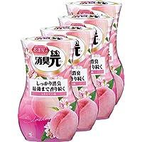 【量贩装】小林制药 房间*剂 *芳香剂 室内用 新鲜白桃香 400毫升×4包 (附赠送)