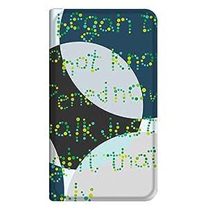 智能手机壳 手册式 对应全部机型 薄型印刷手册 cw-099top 套 手册 文字 超薄 轻量 UV印刷 壳wn-0253648-wy Xperia AX SO-01E 图案F