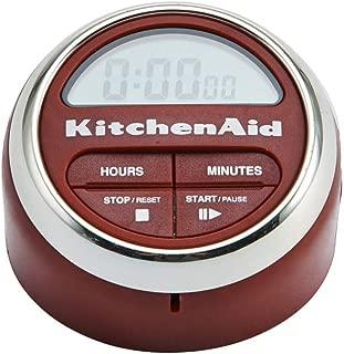KitchenAid 凱膳怡 電子廚房計時器,紅色