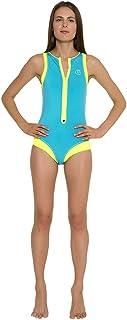 glidesoul 女式领带 & DYE 系列冲浪风格连体泳衣