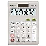 卡西欧计算器税额计算迷你 js型8位 MW - 8vtb N 白色