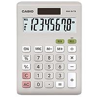 卡西欧 标准计算器 税计算 迷你爵士类型 8位 MW-8VTB-N 白色