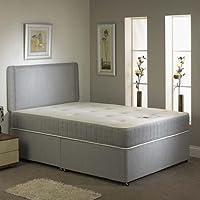 Hf4Youmemory 非转弯式Divan Bed - 50.8 厘米矩形床头板 - 无抽屉