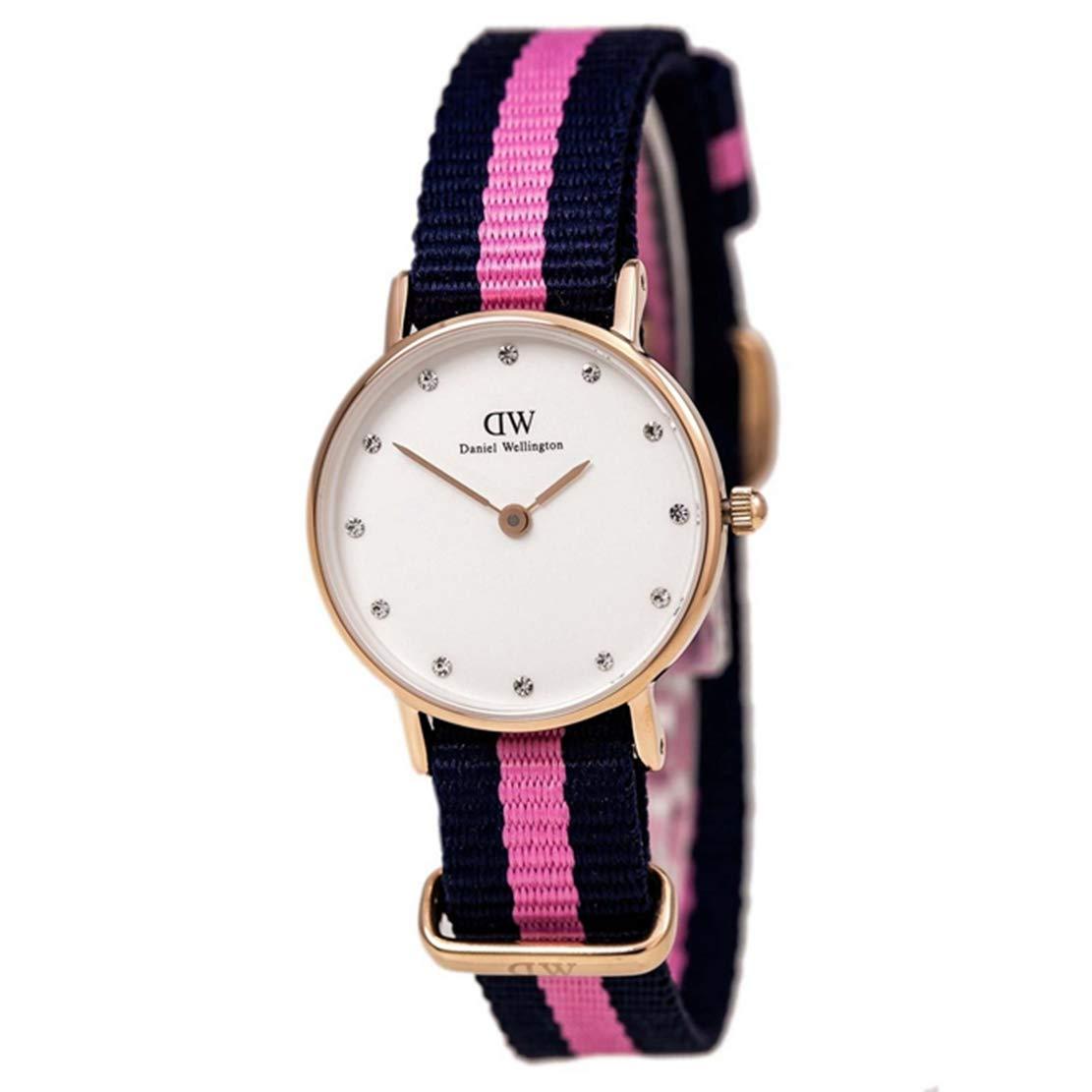 Daniel Wellington 丹尼尔·惠灵顿=尼龙表带 手表 不同批次包装盒随机发送(瑞典品牌 保税区发货)(包邮包税) 原价669元