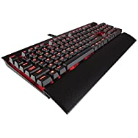 Corsair 海盗船 K70 LUX 机械游戏键盘 Red LED Cherry MX Blue - Clicky & Tactile