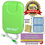 wet-stop3bedwetting enuresis 报警与 loud sound and 强震动男孩女孩均,成熟的 solutions 适用于 bedwetters 3 in X 1.75 in 1.00
