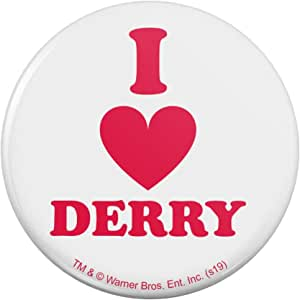 """IT:Quo2 I Love Derry 厨房冰箱储物柜纽扣磁贴 """"Multi"""" 3"""" Diameter MAGBACK.300.WBGAM048.Z005071_8"""