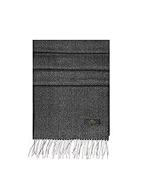 Messerio Plaid%100 羊绒男女围巾 - 超柔软奢华冬季披肩精美礼盒 - 12 种款式