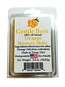 Gentle Bees Orange Beeswax Melts