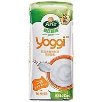 Arla 爱氏晨曦 Yoggi 黄桃味常温酸奶 200ml*12(特卖)