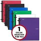 五星灵活混合记事本,1 英寸 1包 为您选择颜色
