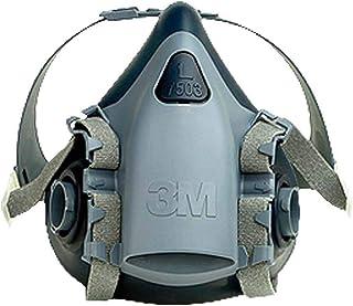 3M 7501 Halbmaskenkörper, aus Silikon mit strukturierter Gesichtsabdichtung, Größe S, 1 Stück, Weiß, S