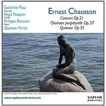 进口CD:埃内斯特·肖松交响曲(CD) LVC1092