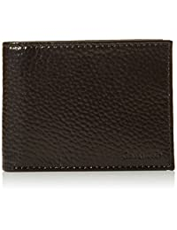 Calvin Klein 卡尔文·克莱恩 passcase棕色牛皮钱包 79368 (美国品牌 香港直邮)(包邮包税)