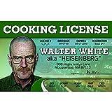 Signs 4 Fun Nwwid Walter 白色司机许可证
