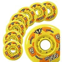 曲棍球滑轮 - Hyper PRO250 黄色 - 80MM - 82A - 8 轮