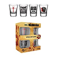 The Walking Dead Symbols Shotglasses set
