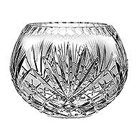 Barski 欧洲手工切割 Majestic 水晶玫瑰碗,20.32 cm D