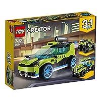 【NEW 上新 1月新品】 LEGO 乐高 拼插类玩具 Creator 创意百变组 火箭拉力赛车 31074 7-12岁 积木玩具