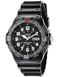 Casio Men's Core MRW200H-1BV Black Resin Analog Quartz Sport Watch