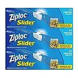 Ziploc Slider 冷冻袋 72 只装 72