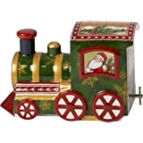 Villeroy & Boch Nostalgic Melody North Pole Express 音乐盒,瓷制,多色,14 x 14.5 x 20 厘米