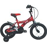 """umit J1450儿童自行车 , 儿童 , 红色 / 黑色 , 14 """""""