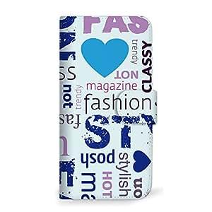 mitas iphone 手机壳318SC-0151-BU/F-02G 5_ARROWS NX (F-02G) 蓝色