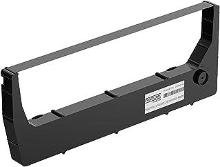 适用于 Printronix 255049-102 标准生活盒色带 适用于所有 Printronix P8000 和 P7000 打印机型号,黑色,1 件装