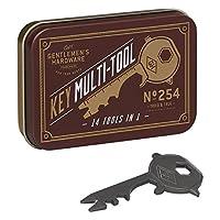 Gentlemen's Hardware 14功能不锈钢钥匙多功能工具