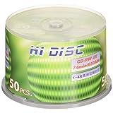 HI-DISC CD-RW 650MB 50张 可重复记录 HD CDRW74 4X50P_Outlet