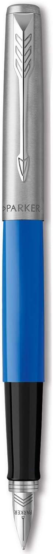 Parker Jotter Originals Fountain Pen, Classic Blue Finish, Medium Nib, Blue & Black Ink