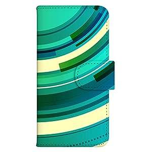 智能手机壳 手册式 对应全部机型 印刷手册 wn-043top 套 手册 数字效果 圆 圈 彩虹 UV印刷 壳WN-PR329766-MX XPERIA Z1 SO-01F SOL23 图案F