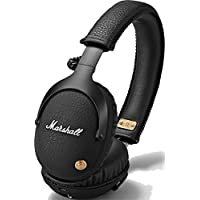 Marshall 马歇尔 Monitor Bluetooth_Black 头戴式无线蓝牙耳机 监听耳机 线控 黑色