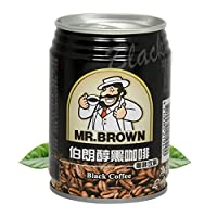伯朗咖啡 醇黑咖啡饮料 即饮品