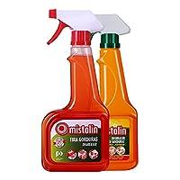 Mistolin 厨房油污清洁剂油烟机清洗剂优惠套装(545ml*2)(进口)(亚马逊自营商品, 由供应商配送)