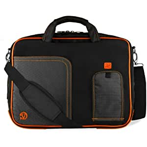 VanGoddy Laptop Messenger Bag for Lenovo ThinkPad / IdeaPad / Yoga / 13.3inch Laptops Titan Orange 13inch