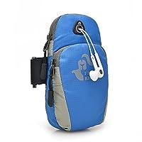 FreeKnight 新款双口袋纯色/迷彩色运动手机臂包(6寸苹果华为小米三星等手机均适用) 男女户外运动跑步臂包随身钱包卡包