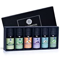 Lagunamoon 精油 6 大礼盒装 纯精油,适合喷雾器、加湿器、按摩、芳香*、皮肤和理发