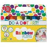 Do A Dot Art! Markers 6 支装彩虹可水洗油漆记号笔,原始圆点标记
