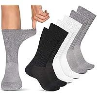 Pembrook *袜(6 双装)*和循环无束缚船袜